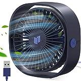 Gifort Ventilatore USB | Mini Ventilatore Portatile | Mini Ventilatore da Tavolo