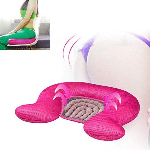 Bazaar Glasfaser Polyester Energie Anion Ball verschönern Kissen Hip Sofa atmungsaktiv Massage Desktop-Kissen -