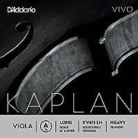 D'Addario KV411-LH Kaplan Vivo Viola A Saite (Long Scale, Heavy Tension)