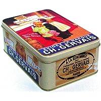Geschirr, Besteck & Gläser Milch- & Zuckerbehälter FRANZOSICH VINTAGE METALL ZUCKERDOSE 19x13x7cm RETRO WERBUNG LU LEFEVRE UTILE 1897