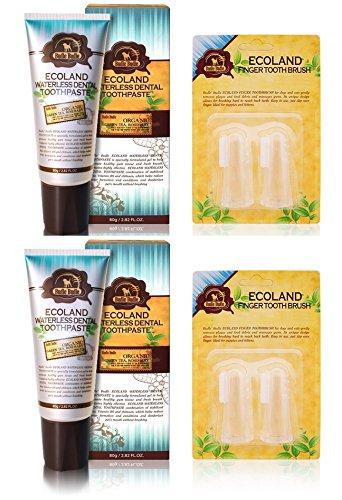 Ecoland Perros, Gatos fricción Orgánica Pasta de dientes dental 80g +...