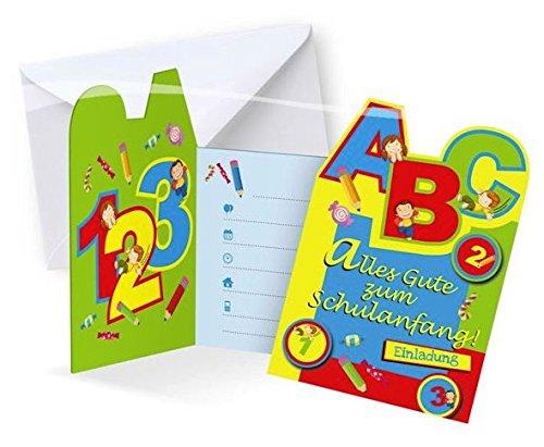 Folat Einladungskarten Schulanfang, 6 STK.
