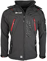 Geographical Norway Herren Softshell Funktions Outdoor Jacke wasserabweisend