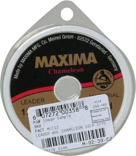 Maxima Leader Rad (12-pound Test), Chameleon, 27-yard von Maxima Angelschnur
