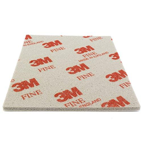 Preisvergleich Produktbild 3M Soft Pad Schleifpad Schleifschwamm 1 Stück 03809 fine fein P320-P400 Korn 100