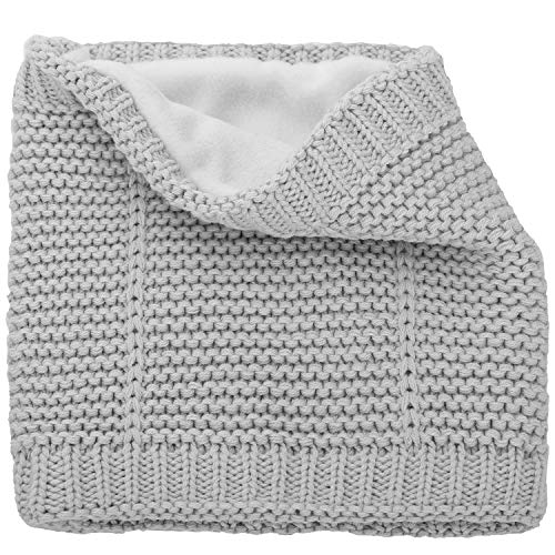 CARETOO Baby Schal Jungen Mädchen Halstücher Unisex Kleinkind Warm Gefüttert Fleece Strickschal für Winter Frühling Herbst