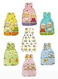 BOMIO Winter Schlafsack   Baby- und Kleinkinder-Schlafsack   sicherer komfortabler Schlaf   100% Baumwolle Oeko-Tex zertifiziert   (Schäfchen (Türkis), 90 cm (6-18 Monate))