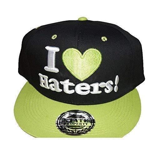 State Property I Love Haters! Casquettes Snapback, Rare Visière Plate Baseball Hip Hop Urbain Ajusté Chapeaux