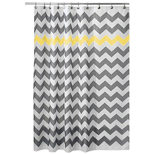 classic-chevron-pattern-shower-curtains-with-12-hooks-high-quality-waterproof-mildewproof-polyester-