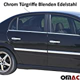 Vectra C / Signum Chrom Türgriffe Blenden 4tlg aus Edelstahl