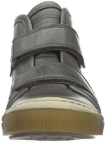 Bisgaard 40704216, Baskets Hautes Mixte Enfant 400 Grey