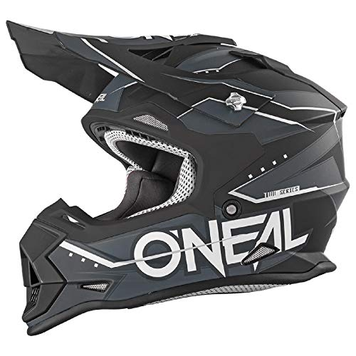 O'Neal 2 Series Slingshot Youth Kinder Motocross Enduro MTB Helm blau/schwarz/weiß 2018 Oneal: Größe: L (53/54 cm)