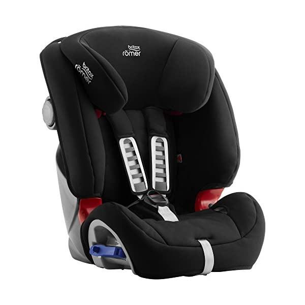 Britax Römer MULTI-TECH III Car Seat (9 Months-6 Years|9-25 kg), Cosmos Black  Advanced side impact protection - the SICT feature offers superior protection to your child in the event of a side collision Extended rearward facing - rearward facing car seats offer the best protection in the event of a frontal collision - the most frequent type of accident on the roads Deep, protective side wings - the soft, padded side wings act as a protective cocoon that helps to absorb the force from a side impact, reducing the risk of injuries to your child 3