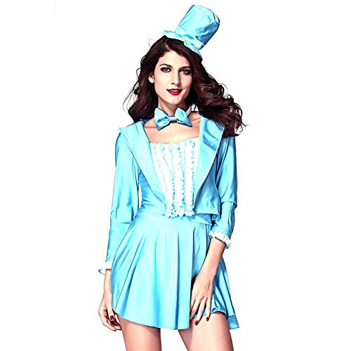 m Gr. One size, Blau (Plus-size-french Maid Kostüme)