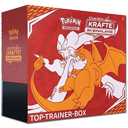 Pokemon - Kräfte im Einklang - Top-Trainer Box   DEUTSCH   Sammelkartenspiel TCG