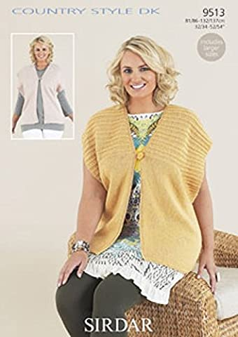 Sirdar Country Style tricoter Motif 9513