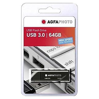 AgfaPhoto 64GB Speicherstick USB 3.0 schwarz