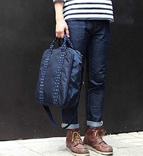 Sentao Multifunktionale Leichtgewichtig Reise Organizer Kosmetik Tasche Handtasche Umhängetasche Unterwäsche Aufbewahrungstasche Marine