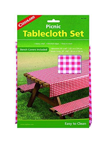 Coghlans Picknick-Tisch-Set, Pink (Camp Gear Usa)