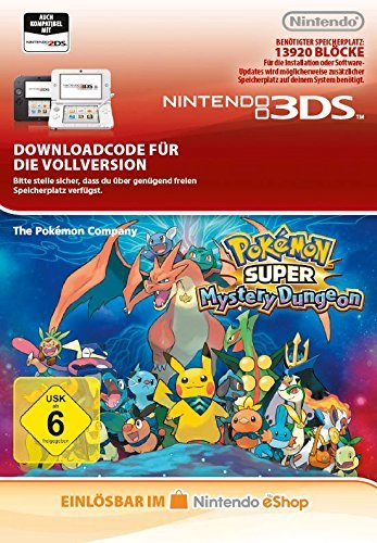 Pokémon Super Mystery Dungeon [3DS Download Code] - Mystery Dungeon Pokemon
