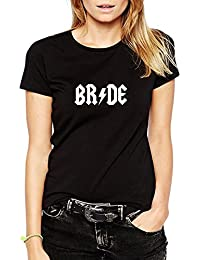 Rock and Roll Bride T-shirt Wedding Hen Party T-shirt