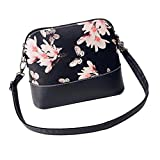 Yuan Women Shoulder Bag Printing Leather Purse Satchel Handbags Messenger Bag