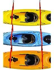 Malone Auto Racks SlingThree Triple Kayak Storage System by Malone