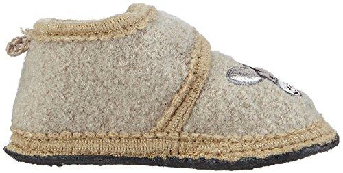 SterntalerHausschuh - Scarpette per bebè & Ciabatte Unisex per bambini Beige (Beige - Beige (sand / 913))