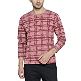 Campus Sutra Men's Checkered T-shirts