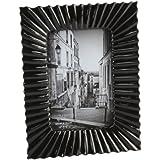 Diseño negro profundo acanalado borde marco de fotos de 10,16 cm x 15,24 cm