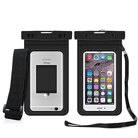 Brassard Etanche Iphone 5s - Housse Étanche - Pochette Étanche Universel Certifiée