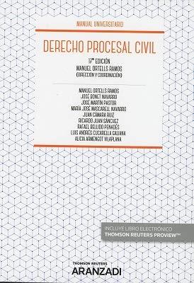 Derecho Procesal Civil (+ E-book) (Manuales)
