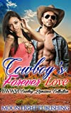 WESTERN ROMANCE: Cowboy's Forever Love (BWWM Multicultural Contemporary Cowboy Interracial Billionaire) (FREE BONUS BOOK AND FREE GIFT INCLUDED)