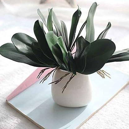 Regard Natral 2 Hojas de orquídea Artificial para decoración de hogar u Oficina