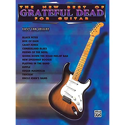 The New Best of Grateful Dead for Guitar: Easy TAB Deluxe (The New Best of... for Guitar) by Grateful Dead (1996-01-01)