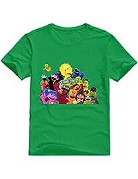 StaBe Hombres Barrio Sésamo camiseta 100% algodón ...