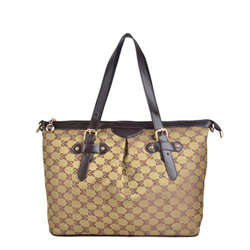 borse Ms./borse alla moda/borsa a tracolla/borsetta/Messenger Bag/bag stampa Retro-D D