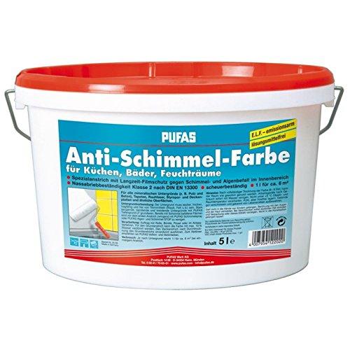 Pufas Anti-Schimmel-Farbe 5,000 L