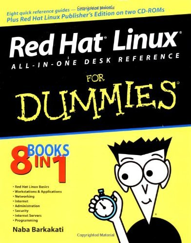 Red Hat Linux All-in-one Desk Reference for Dummies (For Dummies (Computers)) by Naba Barkakati (10-Jan-2003) Paperback par Naba Barkakati
