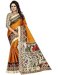 Active Women's Khadi Silk Printed Saree