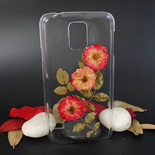 Dried Pressed Flower Phone Case Samsung Galaxy Note 3 Transparent Protective Floral Samsung Note 3 Case for Women Anti-Scratch 900 Soft Case