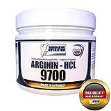 L-arginina Capsule Arginina 9700 - HCL, 200 Caps Pre Workout Pump Booster