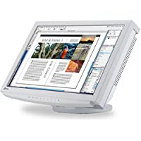 Eizo ColorEdge CE210W 53,3 cm (21 Zoll) widescreen TFT-Monitor DVI mit USB-Hub weiß (Kontrast 1000:1, 8ms Reaktionszeit)