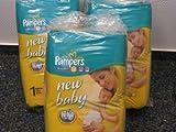 Pampers Windeln New Born New Baby 2-5 kg Grösse 1 4x56=224 Stück von Hygienedepot