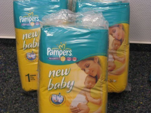 Windel Pampers New Born New Baby im Test 2018