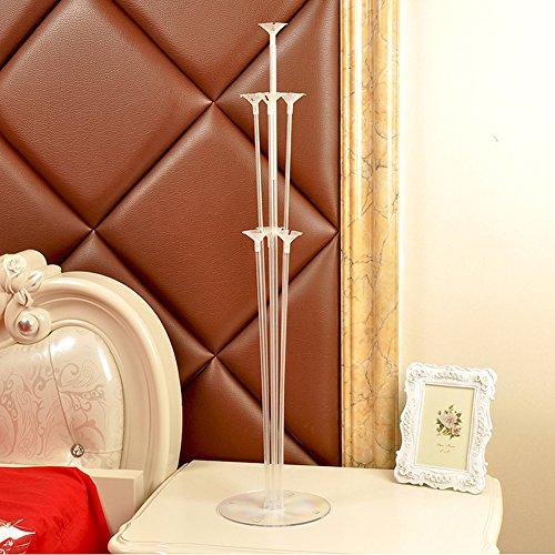 SINOTECHQIN 1Kunststoff Luftballons Ständer Tisch Luftballon Unterstützung Rack Set für Hochzeit Party Schreibtisch - Fly Away Halter