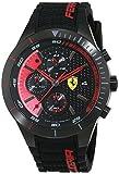 Scuderia Ferrari 0830260 Orologio da uomo al quarzo, con quadrante classico analogico e cinturino in silicone
