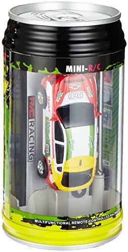 [Zufallsfarbe]Mini RC Raser ferngesteuertes 1: 63 Auto, Coladose Verpackung, Fernsteuerung mit Ladefunktion inkl. Zubehör - 2