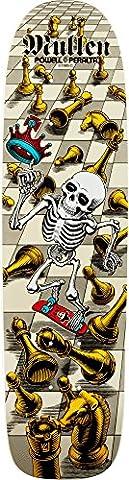 Powell-Peralta Rodney Mullen Bones Brigade Deck, White by Powell-Peralta
