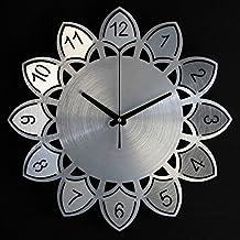 23088a079666 reloj de pared Lotus Moda Creativa Reloj Colgante Dormitorio Sala Mudo  GAODUZI